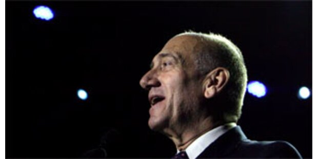 Stuhl von Israels Premier Olmert wackelt
