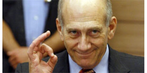 Barak fordert Rücktritt von Premier Olmert
