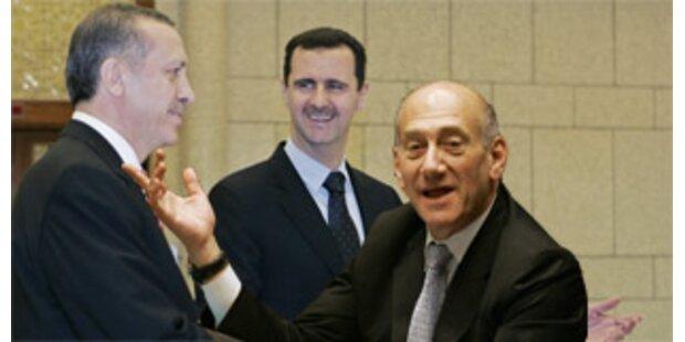 Israel und Syrien nehmen Friedensgespräche auf