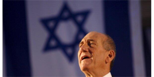 Israels Premier Olmert will im September abtreten