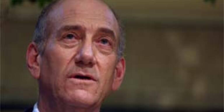 Israels Premier Olmert unter Korruptionsverdacht