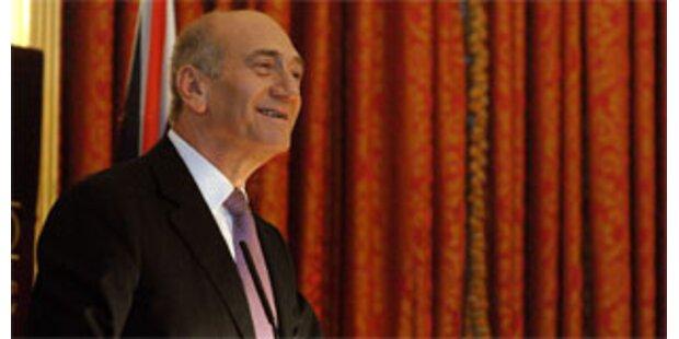 Olmert rechnet nicht mit heurigem Friedensvertrag