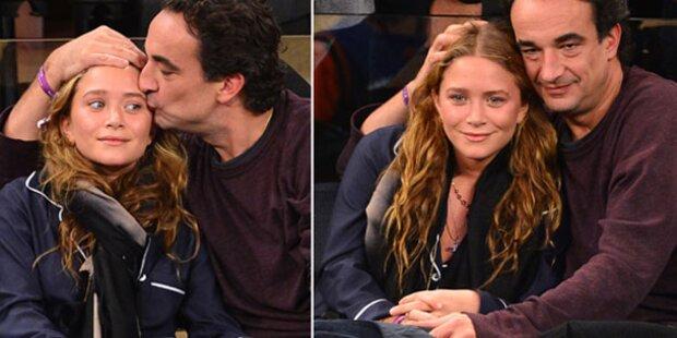 Olsen & Sarkozy: Verliebt beim Basketball