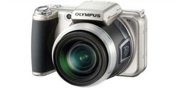 Neue Olympus mit 30-fachem Zoom