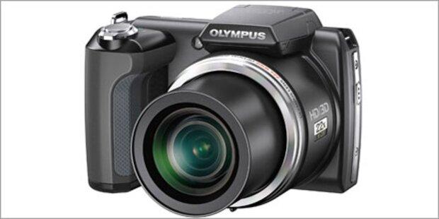 Neue Olympus SP 610UZ startet