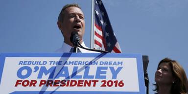 O'Malley geht ins Rennen ums Weiße Haus