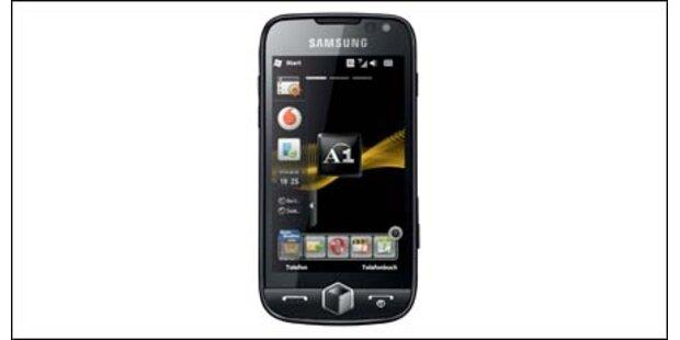 Samsung Omnia II mit Windows Mobile 6.5