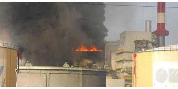 Heizkraftwerk auf OMV-Gelände brannte