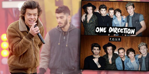 One Direction: Neuer Song & Platte