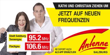Salzburgs Privatradio Nummer 1 zieht um!
