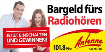 """So fängt das Jahr gut an!: Der """"Ich höre Antenne Salzburg""""-Anruf"""