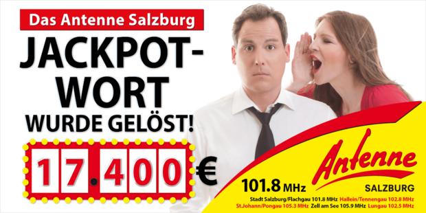 Das Antenne Salzburg Jackpot - Wort