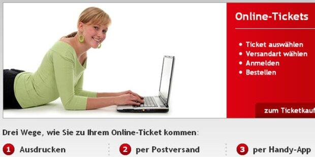 Öffi-Tickets: Boom bei Online- & Handy-Käufen