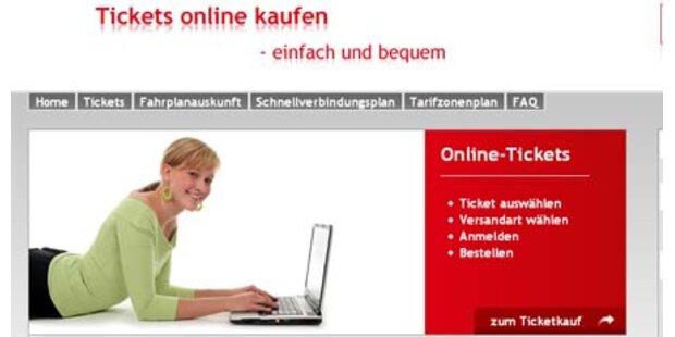 Wiener Linien erweitern Online-Tickets