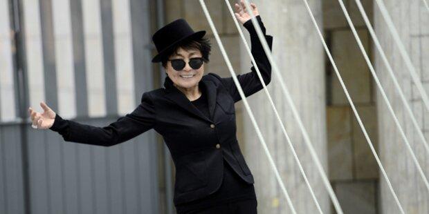 Yoko Ono zieht Kraft aus ihrem Alter