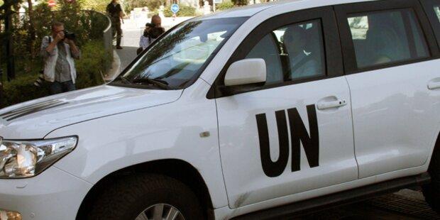 Syrien: Waffen-Inspektoren wieder frei