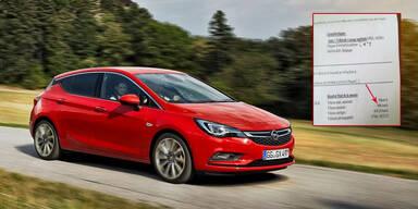 Opel-Fahrer mit 696 km/h geblitzt