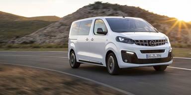 Jetzt startet der neue Opel Zafira Life