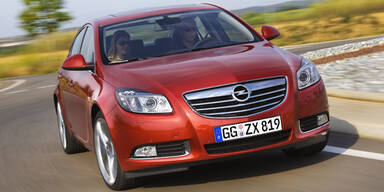 Opel Insignia mit neuem Selbstbewusstsein