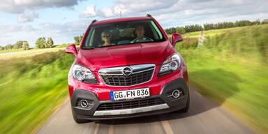 Opel Mokka weiter im Höhenflug