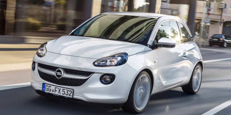 Opel hat schon 100.000 Adam verkauft