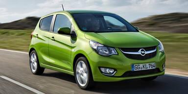 Opel Karl startet zum Kampfpreis