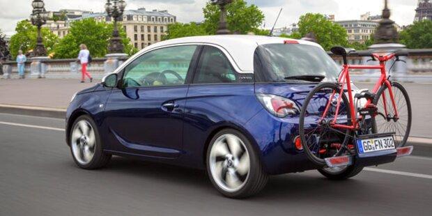 Opel Adam bekommt den FlexFix-Träger