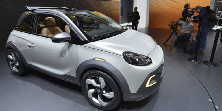 Opel greift mit vier Weltpremieren an
