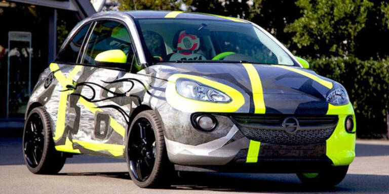 Opel Adam im Valentino Rossi-Look