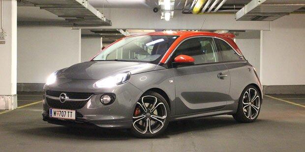 Der stürmische Opel Adam S im Test