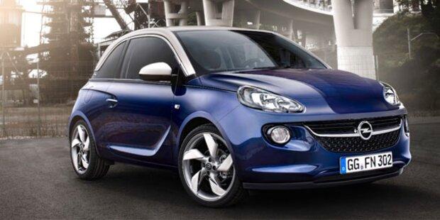 Weltpremiere des neuen Opel Adam