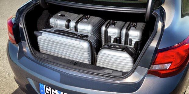 Opel stellt die Astra Limousine vor