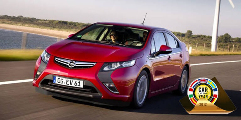 "Opel Ampera ist ""Car of the Year 2012"""