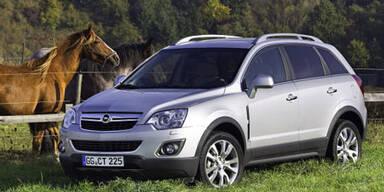 Opel verpasst dem Antara ein Facelift