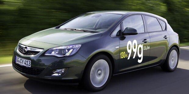 Sparsamster Opel Astra aller Zeiten