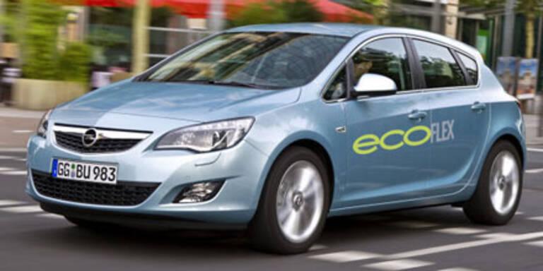 Opel Astra CDTI ecoFlex wird sparsamer