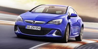 Opel lässt den neuen Astra OPC vom Stapel