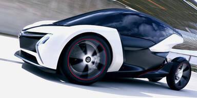 Elektro-Studie RAK e von Opel auf der IAA