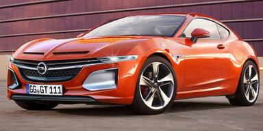 Offiziell: Opel GT feiert Comeback