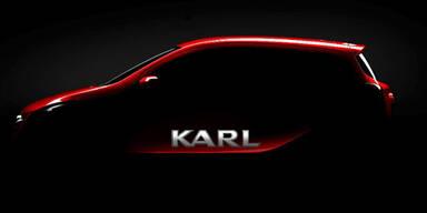 "Opel bringt neuen Cityflitzer ""Karl"""