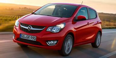 Opel Karl jetzt noch sparsamer