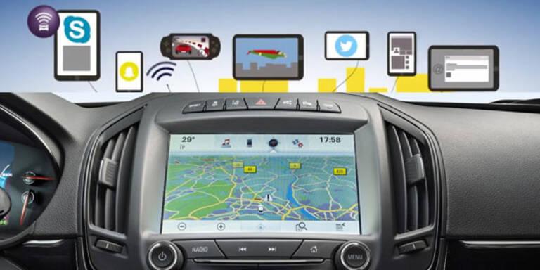 Opel-Modelle werden total vernetzt