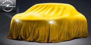 Opel zeigt ein sportliches Modell