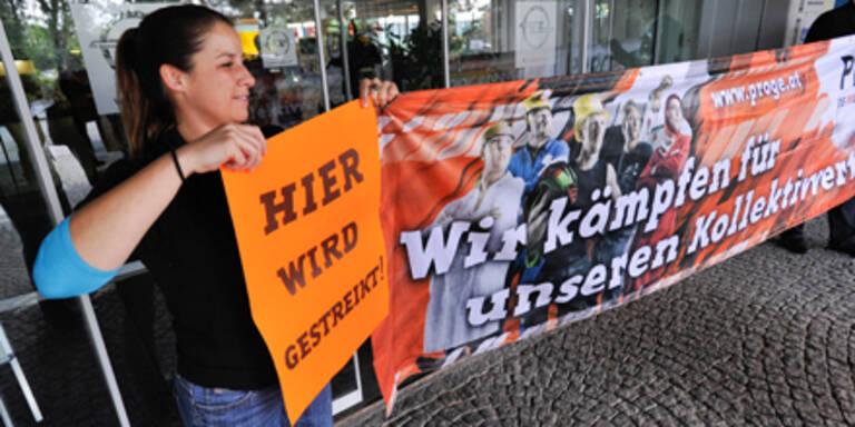 Lohnrunde geplatzt: Streiks in 150 Betrieben