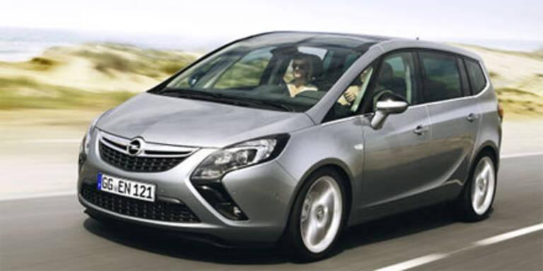 Fotos & Infos vom Opel Zafira Tourer  (2011)