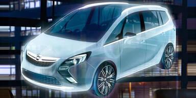 So sieht der neue Opel Zafira aus