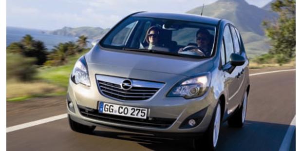 Opel Meriva ecoFlex braucht nur 4,5 Liter