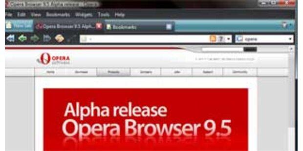 Opera in der Version 9.5 erschienen
