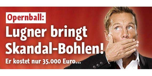 Lugner: Mit Skandal-Bohlen zum Opernball