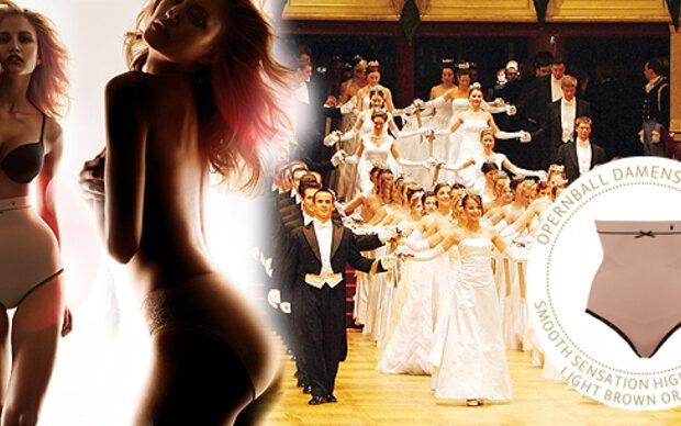 Figurformende Spende am Wiener Opernball